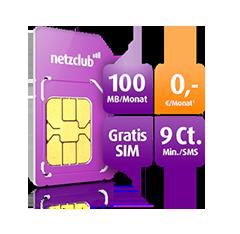 netzclub: Kostenloser Prepaid Tarif im o2 Netz
