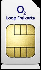 o2 Freikarte: Kostenlose SIM-Karte mit Loop Tarif