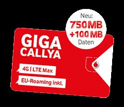Vodafone CallYa Smartphone Allnet Flat: Kostenlose SIM-Karte