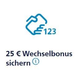 25 € Wechselbonus bei der o2 Freikarte
