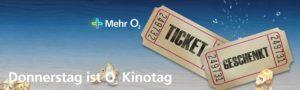 o2 Kinotag - so sicherst Du Dir bis zu 3 Kinogutscheine im Monat
