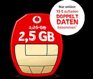 Kostenlose CallYa Prepaid-Freikarte mit mehr Datenvolumen