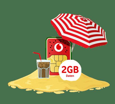 Vodafone Freikarte: Kostenlose CallYa Prepaid Karte